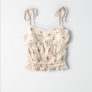 American Eagle Ruched Camisole